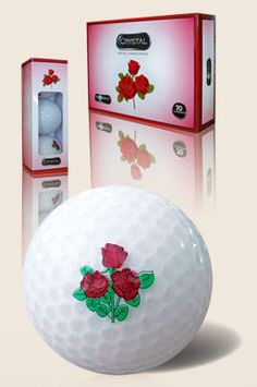 Red Rose FL Golf Ladies Crystal Golf Balls (1 Dozen), the most comfortable ball on the market!