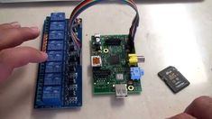 Raspberry Pi: 8 Channel Relay step-by-step with software examples for au...