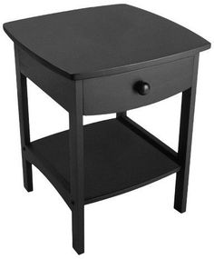 Winsome Claire Accent Table - Black
