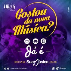 """Luis Marcelo e Gabriel - música nova: """"Já é""""    http://www.suamusica.com.br/?cd=385487"""