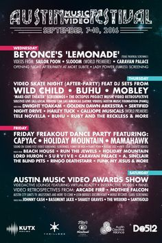 Austin Music Video Festival ft. Videos from Beyonce, Run The