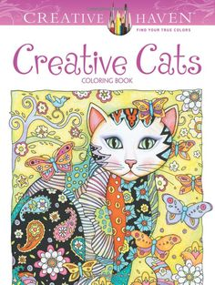 Creative Haven Creative Cats Coloring Book (Creative Haven Coloring Books): Marjorie Sarnat: 9780486789644: AmazonSmile: Books