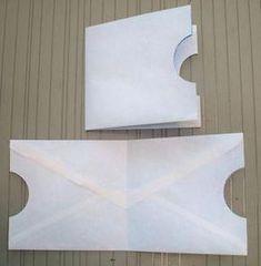 Tutorial on an Envelope & Card booklet 2019 ENVELOPE POCKETS Tutorial on an Envelope The post Tutorial on an Envelope & Card booklet 2019 appeared first on Scrapbook Diy. Handmade Journals, Handmade Books, Handmade Crafts, Handmade Rugs, Diy Girlande, Envelope Art, Origami Envelope, Paper Folding, Altered Books