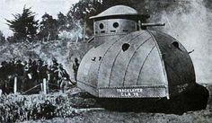 WWI American Tank..