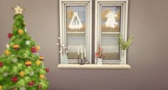 The Sims 4 by Kasia: Okna świąteczne