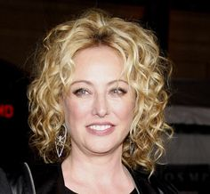 Virginia Madsen Medium Curls - Medium Curls Lookbook - StyleBistro