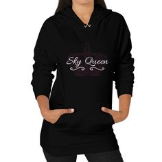 Sky Queen Hoodie (on woman)