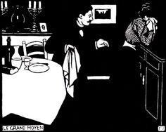 Félix Vallotton - Intimités Gravures sur bois