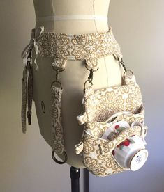 My most recent project is a steampunk utility belt with swivel hooks that access. - My most recent project is a steampunk utility belt with swivel hooks that accessories can be attach - Steampunk Cosplay, Viktorianischer Steampunk, Steampunk Skirt, Steampunk Crafts, Steampunk Clothing, Steampunk Fashion, Steampunk Halloween, Steampunk Necklace, Steampunk Couture