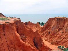 The beaches in northeast Brazil look pretty amazing.