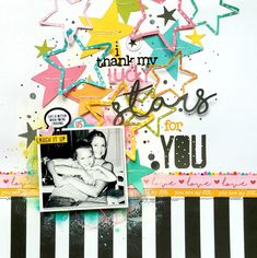 Bella Blvd CT Project - Oh My Stars collection; Shimmerz Paints, Prima Oil Pastels