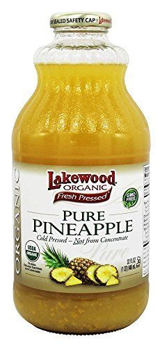Lakewood Pure Pineapple Juice Organic 1 Quart * Read more reviews of the product by visiting the link on the image.