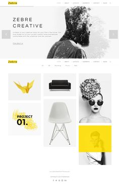 Minimal, Agency & #Portfolio #HTML Theme is designed subtle and prevailing. If you are a creative #Designer, Developer, Freelancer or Agency, Zebre must satisfy the several standards of your demands.