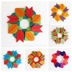 Origami Maniacs: Origami Modular Garland by Francis Ow