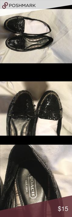 Coach shoes Slightly worn Coach Shoes Flats & Loafers