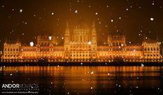 Winter - Parlament - Budapest - Hungary