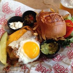 check out burger and beer joint in south beach fl as seen on man vs food and featured on tvfoodmaps known for owners ron garcia and buzzy sklar bring the - Man V Food Kitchen Sink