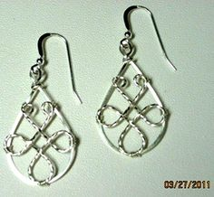 wire Jig Designs | wire Jig Designs - Bing Images | In my spare time--wire (only) earrin ...