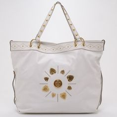 Gucci Large Irina Cream Tote Bag. Get one of the hottest styles of the season! The Gucci Large Irina Cream Tote Bag is a top 10 member favorite on Tradesy. Save on yours before they're sold out!