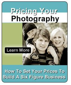 Pricing Your Photography Business..if I ever go pro