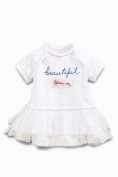 Kupte si White Beautiful Tu-Tu Bodysuit m let) on-line dnes na Next  Česká  republika 7fe3bd4640d