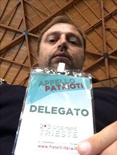 Sono stati due giorni di forte esperienza umana e politica a #Trieste. Fratelli d'Italia esce da questa esperienza più consapevole del ruolo che ricopre nell'ambito del centro destra ma soprattutto per il futuro dell'Italia. Onestà, merito, riscossa nazionale, amor patrio e proposte per l'Italia del domani sono stati i contenuti che Giorgia Meloni e tutti noi con il cuore offriamo agli italiani #congressofdi #patrioti @giorgiameloni @guidocrosetto