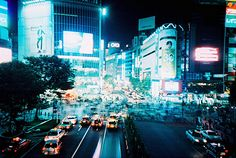 Hachiko crossing on a Friday night. Tokyo.