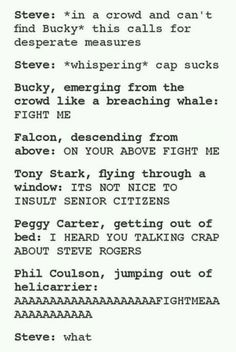 All true except for Peggy :'(