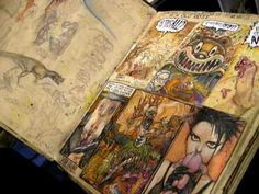 Paul Komoda's Sketchbook Comic-Con 09'