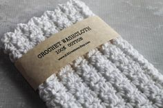 CROCHET 100% Cotton Crochet Wash Cloth Crocheted Cotton by JLZCreations
