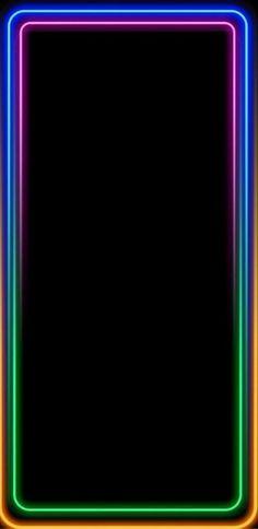 Black Wallpaper Iphone Dark, Wallpaper Edge, Neon Light Wallpaper, Colourful Wallpaper Iphone, Qhd Wallpaper, Galaxy Phone Wallpaper, Color Wallpaper Iphone, Iphone Homescreen Wallpaper, Apple Logo Wallpaper