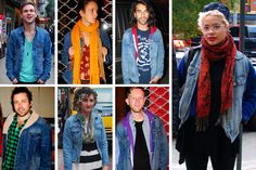 Denim inspiration from the streets of New York.