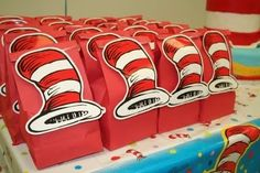 cat in the hat party bags