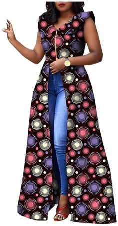 African Dresses For Kids, African Maxi Dresses, Latest African Fashion Dresses, African Attire, Long Dresses, Ankara Clothing, African Print Clothing, African Prints, African Traditional Dresses