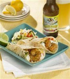 shrimp tacos Leinenkugel Summer Shandy