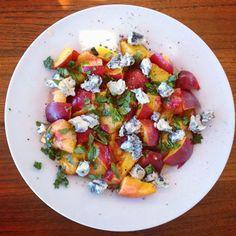nectarine dolcelatte salad more nectarine gorgonzola ripe nectarine ...