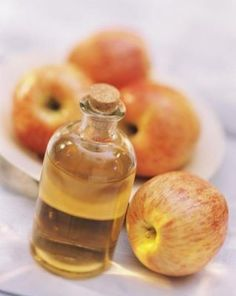Apple cider vinegar: sooth sunburns and insect bites, keep healthy by adding a teaspoon to a glass of water (also helps upset stomachs!), fill an old shampoo bottle half with ACV + 1 cup of water to keep hair glowing and healthy, helps heal spots and acne, works as disinfectant and can clean microwaves, tiles, mirrors + windows.