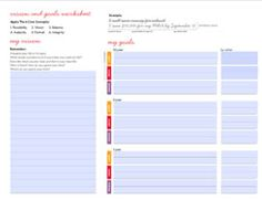 The Goal Board Is A Calendar For Your Ambition  Goal Board