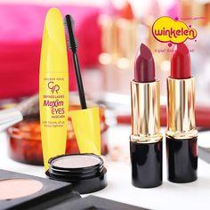 Golden Rose Defined Lashes Maxim Eyes MAskara ile dolgun ve uzun kirpiklere merhaba! %50 indirimden faydalanmak için seni Winkelen Mağazalarına bekliyoruz. #tazelenyenilen #winkelentr #makyaj #cilt #saç #kisiselbakim #sacbakimi #elbakimi #ciltbakimi #yuzbakimi #kozmetik #kadın #güzellik #indirim #parfüm #kampanya #happy
