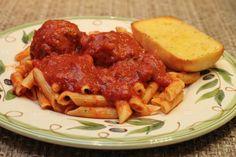 Rose's Spaghetti Sauce and Meatballs