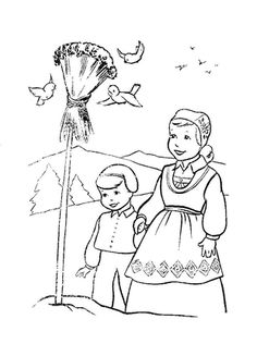 Kirsten unit coloring page