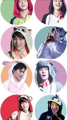 exo Exo News, Exo Cartoon, Exo Concert, Exo Lockscreen, Baekhyun Chanyeol, Exo Do, Kpop Exo, Exo Members, My Sunshine