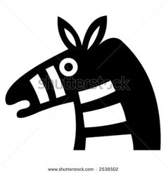 donkey silhouette vector - Google Search