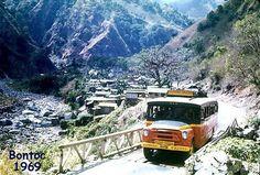 Dangwa Tranco Baguio Bontoc line circa 1969 Baguio City, Trees To Plant, Environment, Camping, Train, Island, Building, Busses, Terraces