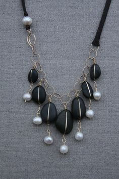 CRJ Jewels: Chuckanut Black Jade & Pearls 2012