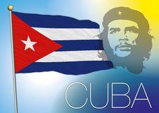 Cuba flag Stock Images