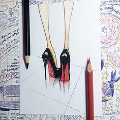 Всем хорошей пятницы✌️ #ауменятуфельноевдохновение #zh_3 #process #illustrator #illustration #fashionillustrator