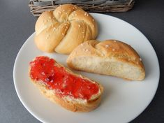 Hot Dog Buns, Hot Dogs, Food And Drink, Bread, Brot, Baking, Breads, Buns