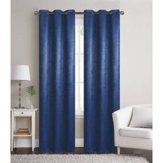 Pauley Best Home Fashion Pleated Tulle Lace Solid Blackout Thermal Grommet Curtain Panels Blackout Panels, Blackout Curtains, Modern Curtains, Colorful Curtains, Grommet Curtains, Drapes Curtains, Kitchens And Bedrooms, Room Darkening, Window Panels