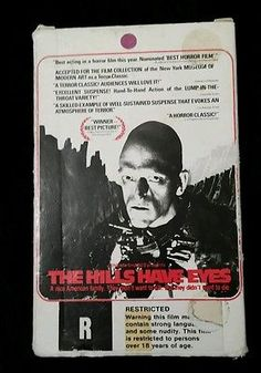 RARE Vintage The Hills Have Eyes Beta Tape ORIGINAL 1977 Horror Cult Collectible The Hills Have Eyes, Horror Movies, Tape, The Originals, Vintage, Collection, Horror Films, Duct Tape, Vintage Comics